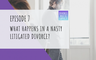 Ep 7:  What Happens in a Nasty Litigated Divorce?